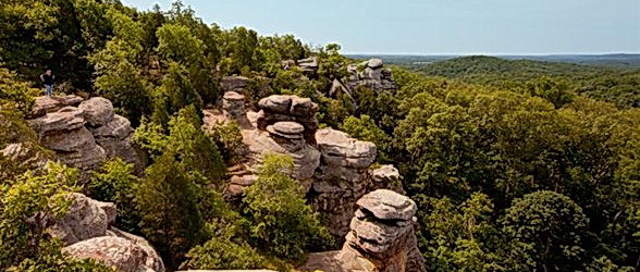 Garden of the Gods, Saline & Pope Counties