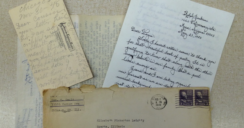 Correspondence in Leighty Papers, GSSI Archives